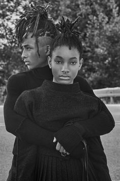 "senyahearts: ""Jaden and Willow Smith by Steven Klein for Interview Magazine, September 2016 "" Similar here: http://fashion-dashboard.tumblr.com/"