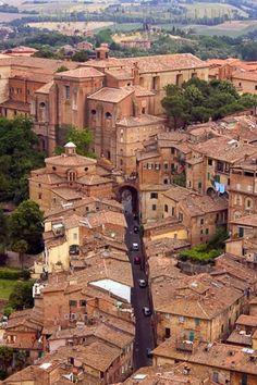⚜️ Lugares para regresar... Siena, Tuscany, Italy