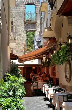 Sorrento, Italy @Ryan Sullivan Eric I think we ate here!! Remember the calzone and the eggplant pasta??