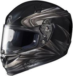 HJC RPHA-10 Evoke Full Face Street Helmet (Black/Gray/Silver, Large)