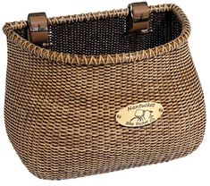 Nantucket Bike Basket Co. Lightship Basket (Classic/Tapered) - Johnny Sprockets - Broadway and Bryn Mawr locations in Chicago, IL