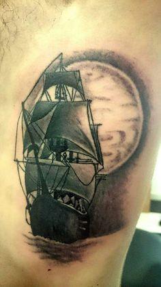 Tattoo veliero b&g