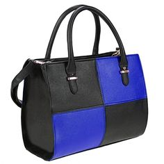 Condition: New  Material: Faux leather  11 Colors: Yellow, White, Rose Red, Red, Pink, Orange, Lake Blue, Dark Blue, Blue, Black, Apricot  Size: L30 x W11 x H24cm/11.7 x 4.3 x 9.4inch (Approx)  Strap Drop: 12cm/4.7inch  Shoulder Strap Size: L125 x W2cm/48.8 x 0.8inch (Length Adjustable)  Pattern: Plaid  Closure/Open by: Zip  Style: Handbag/Shoulder Bag  Strap Quantity: 3 = 2 Handbag Strap (Immoveable) + 1 Shoulder Strap  Feature: Adjustable & Detachable Strap, Compartment, Mobile Phone…