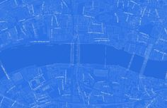 A Philadelphia Data Scientist Made a Beautiful Blueprint-Style Map of the World - CityLab