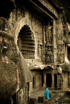 Ajanta Caves, Arangabad India