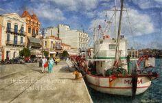 GREECE CHANNEL   Mytilene Harbour - Lesbos