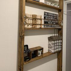 Diy Recycle, Recycling, My Room, Bathroom Medicine Cabinet, Wine Rack, Diy And Crafts, Shelves, Storage, Interior