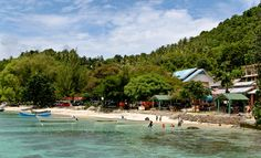 Iboih Beach at Sabang Island you can find good spot for diving and surving more information at www.acehtravelguide.com