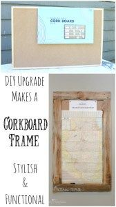 Don't pay for style and don't compromise for functionality. Get both with some basic DIY skills! See how this corkboard was updated with a rustic pallet frame.