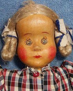 Margret Meng Wooden Cloth Doll Dora Kuhn Dollhouse Furniture
