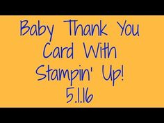 Stampin' Up! New Product Preview! - YouTube