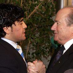 ARGENTINE :: Diego Maradona cible Sepp Blatter :: ARGENTINA