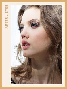 Fashion Week Makeup - ARTFUL EYES:  Chanel Makeup by Tom Pecheux  | allure.com
