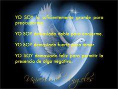 """Afirmaciones """"Yo Soy"""".  #UniversoDeAngeles"""