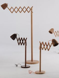 New collection Finnieston by Samuel Chan for Channels #wood #lamp