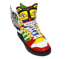 best sneakers c56e8 132cd adidas Originals by Jeremy Scott JS Wings Eagle Totem