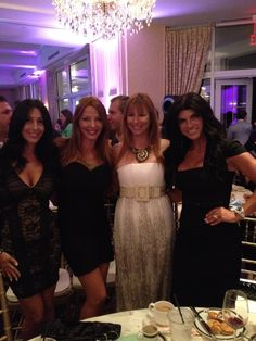 Carla & Drita (Mob Wives), Teresa Guidice with Jill Zarin