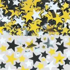 Hollywood Stars Metallic Confetti | 2.5 Oz. for $5.95 in Hollywood - Theme Parties - Theme & Event Parties