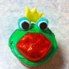 Frog Valentine Cupcake <3