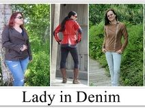 Jacke Lady in Denim Etsy, Denim, Sewing Patterns, Jeans