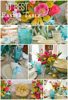 Blue Ribbon Kitchen: 10 Best Easter Table Tips