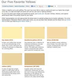 Best Benjamin Moore Exterior Paint cool exterior home painted benjamin moore 1468 willow creek Favorite Popular Best Selling Shades Of Yellow Paint Colors From Benjamin Moore