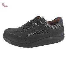 WALDLÄUFER Hiroko 20 364018601564 femmes Chaussures à lacets, noir 42 EU
