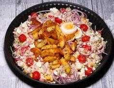 De gezonde recepten van Ursie Slow Cooking, Paella, Cobb Salad, Ethnic Recipes, Food, Tomatoes, Meals, Yemek, Eten