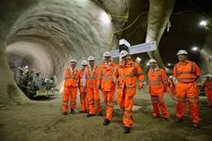 Image result for tunnel worker