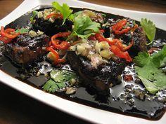Bon Appétit: Farangin karamellipossu - Nami nami! Steak, Beef, Food, Bon Appetit, Meat, Essen, Steaks, Meals, Yemek
