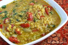 Spiced Vegetable Dal and a Memorial