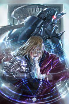Fullmetal Alchemist - Richy Truong - Alphonse Elric, Edward Elric