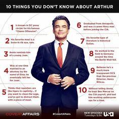 Arthur, Covert Affairs