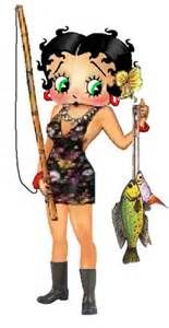 Betty Boop...what a catch!