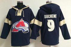 Colorado Avalanche #9 Matt Duchene Blue Pullover NHL Hoodie Sports Jersey Online at Best Prices
