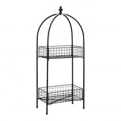 We are very proud to introduce this beautiful New York Loft Black Shelf Unit. It has a stunning design which is sure to stand out and impress, whilst also creating a modern yet elegant atmosphere in any home. French Furniture, Shabby Chic Furniture, Acrylic Cake Stands, Vegetable Rack, Tiered Fruit Basket, Cake Stand With Dome, Wooden Plant Stands, New York Loft, Wrendale Designs