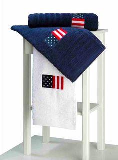 Juego de toallas USA de Barceló
