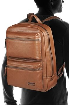 Rawlings Rugged V604-202 21x13x6 Backpacks - Cognac | Leather ...