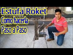 ESTUFA ( ROKET - Cohete )-Como hacerla - Paso a Paso - YouTube Rocket Stove Design, Gas Bbq, Rocket Stoves, Rest, Wood Burner, Welding, Youtube, How To Plan, Videos