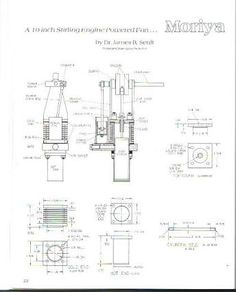 sterling engine plans - Google Search