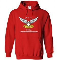 Its a Folger Thing, You Wouldnt Understand !! Name, Hoo - #bridesmaid gift #mothers day gift. LIMITED TIME => https://www.sunfrog.com/Names/Its-a-Folger-Thing-You-Wouldnt-Understand-Name-Hoodie-t-shirt-hoodies-8101-Red-34323480-Hoodie.html?68278