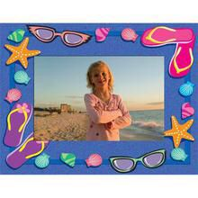 Flip Flop Paper Frame with name meaning on artwork paper of your choice.