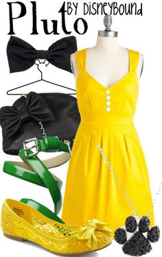 Pluto outfit by DisneyBound