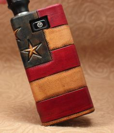 Hey, I found this really awesome Etsy listing at https://www.etsy.com/listing/169323289/usa-leather-vaping-sleeve-case-wrap