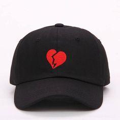 2017 new embroidery Heartbraker baseball cap men women fashion Cotton  baseball cap hat Snapback Hats adjustable Caps 3ee260209d7a