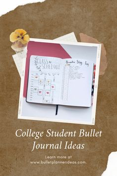 College Student Bullet Journal Ideas - STUDENT BULLET JOURNAL IDEAS! GET INSPIRED TO TRACK YOUR GRADES, LOG YOUR STUDYING AND MORE WITH THESE LAYOUT AND SPREADS FOR STUDENTS. Click to read more. Bullet Journal Headers And Banners, Monthly Bullet Journal Layout, Bullet Journal Mood Tracker Ideas, Bullet Journal Printables, Bullet Journal Themes, Bullet Journal Inspiration, Journal Ideas, Bullet Journal Gifts, Bullet Journal For Beginners