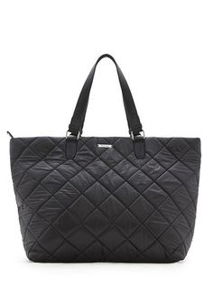 MANGO - Quilted shopper bag