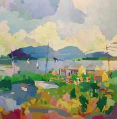 Henry Isaacs - View Over the Boathouses