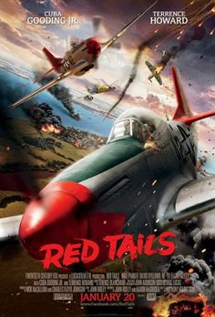 Red Tails is my favorite African American movie . Its a tribute to Tuskegee Airmen.
