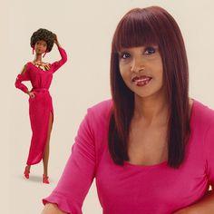 NEW Barbie Fashionista Doll Red Heart Shaped Bag Handbag Purse Clutch